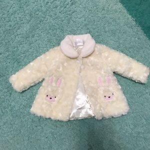 Kyle & Deena baby girl's bunny coat